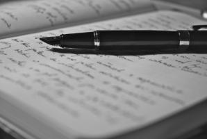 resized writing